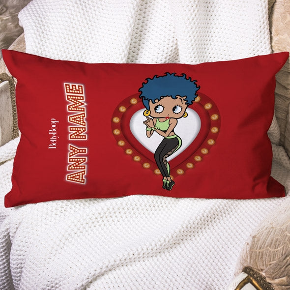 Betty Boop Name In Lights Placement Cushion - Image 1