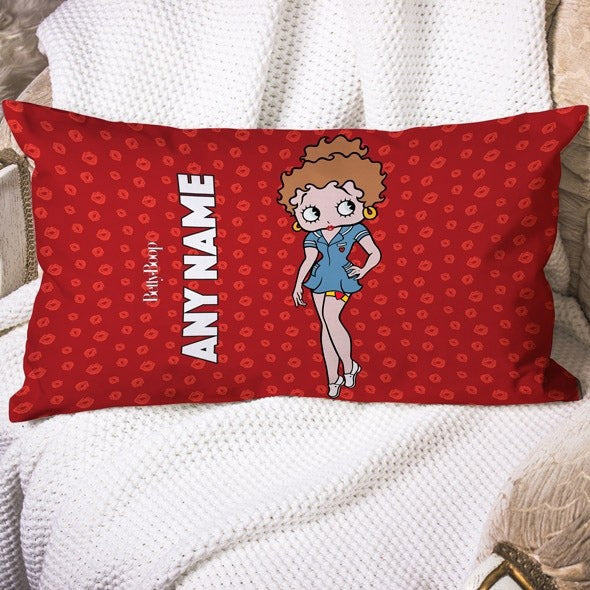 Betty Boop A Thousand Kisses Placement Cushion - Image 1