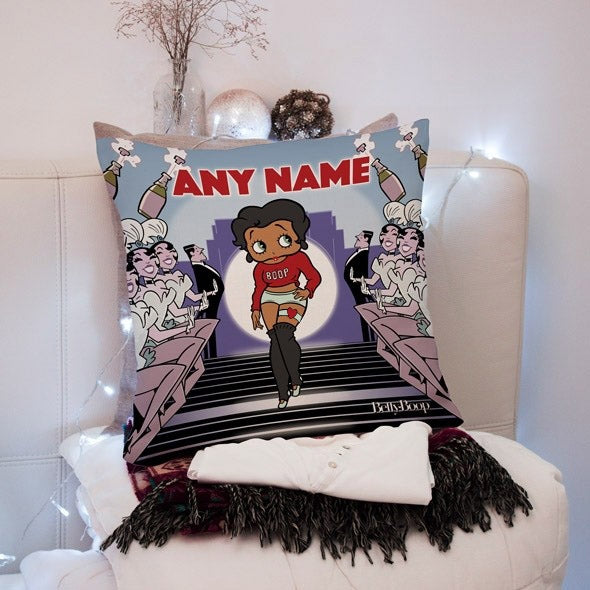 Betty Boop Showtime Square Cushion - Image 1