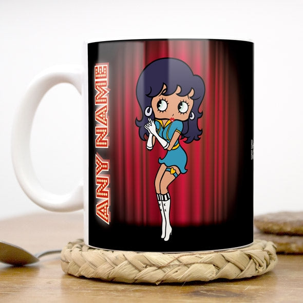 Betty Boop Curtain Call Mug - Image 1