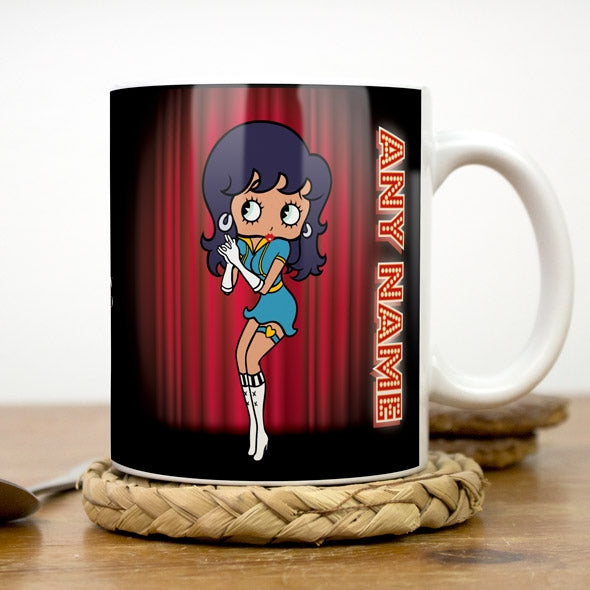 Betty Boop Curtain Call Mug - Image 3
