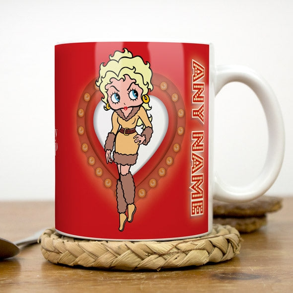 Betty Boop Name In Lights Mug - Image 3