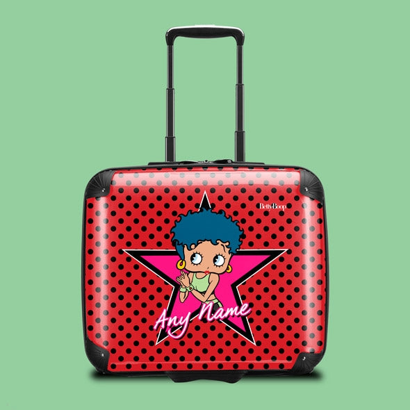 Betty Boop Polka Star Weekend Suitcase - Image 1