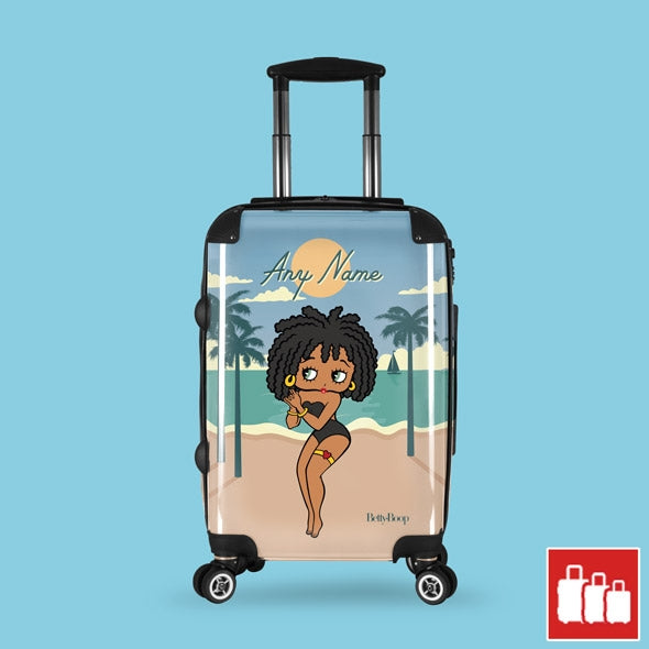 Betty Boop Beach Life Suitcase - Image 1