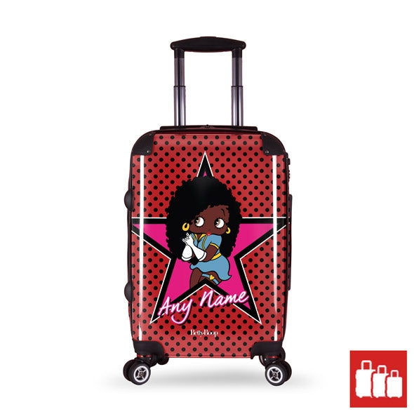 Betty Boop Polka Star Suitcase - Image 1
