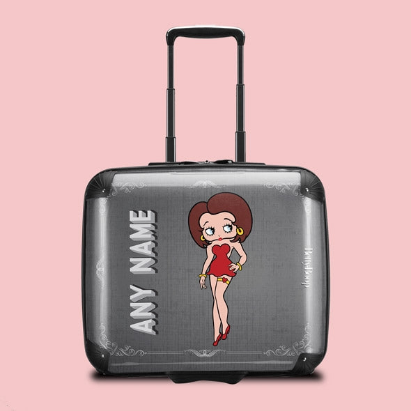 Betty Boop Vintage Film Weekend Suitcase - Image 1