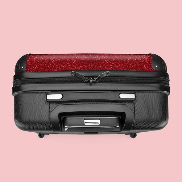 Betty Boop Red Glitter Effect Weekend Suitcase - Image 4