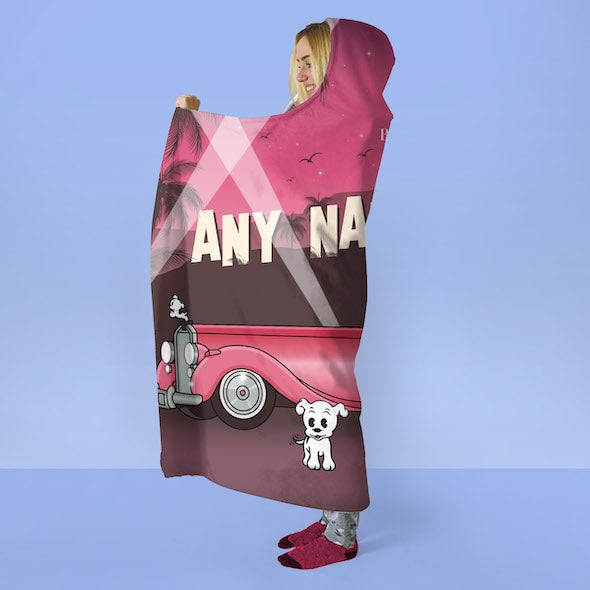 Betty Boop Hollywood Hooded Blanket - Image 4
