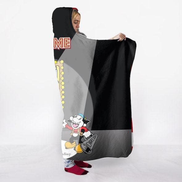 Betty Boop Studio Time Hooded Blanket - Image 3