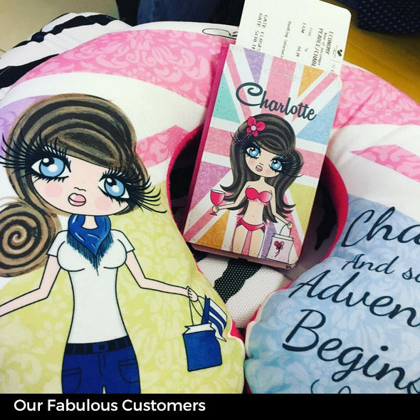 ClaireaBella Union Jack Passport Cover - Image 6
