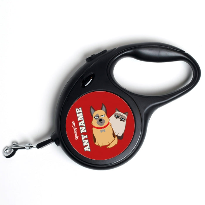 Grumpy Cat Red Dog Lead - Image 1