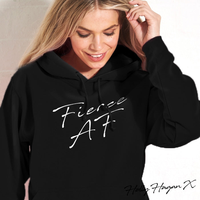 Holly Hagan X Fierce A.F Hoodie - Image 6