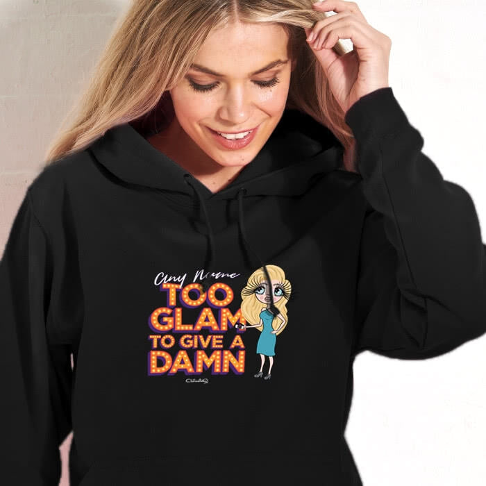 ClaireaBella Too Glam Hoodie - Image 1
