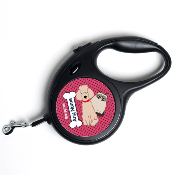 Grumpy Cat Polka Dot Dog Lead - Image 4