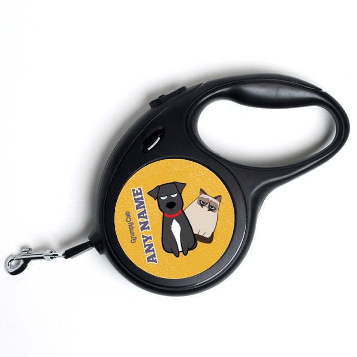 Grumpy Cat Yellow Dog Lead