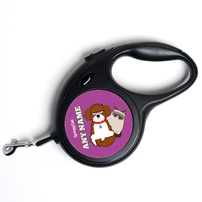 Grumpy Cat Purple Dog Lead