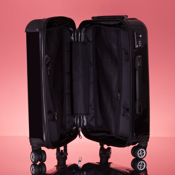 ClaireaBella Girls Black Suitcase - Image 8