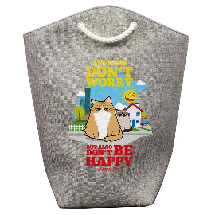 Grumpy Cat Be Happy Pet Storage Bag - Image 2