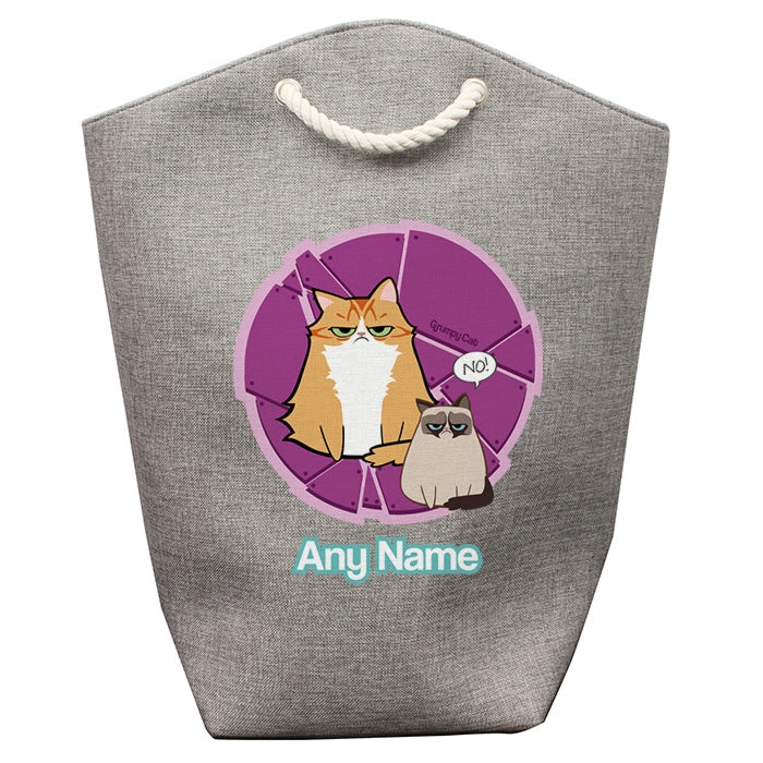 Grumpy Cat Purple Pet Storage Bag - Image 1