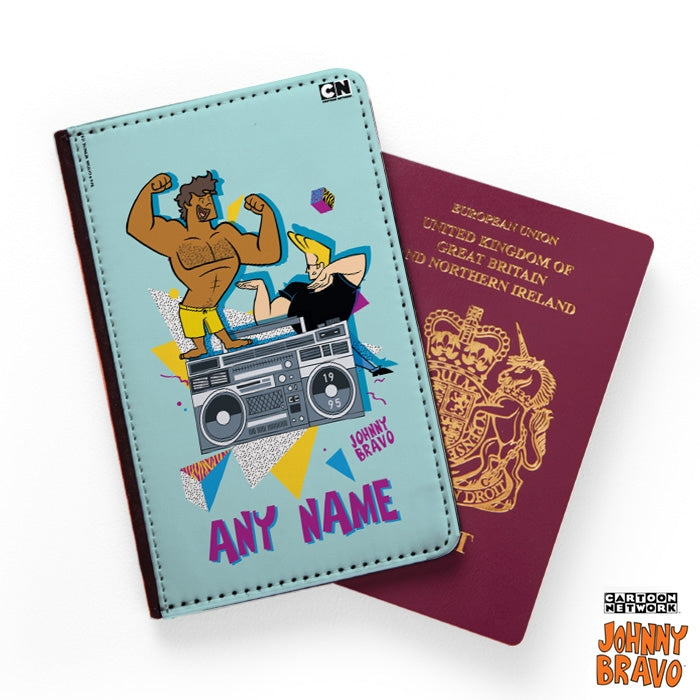 Johnny Bravo Guys 90s Blast Passport Cover - Image 1