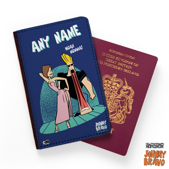 Johnny Bravo Ladies Woah Mamma Passport Cover - Image 1