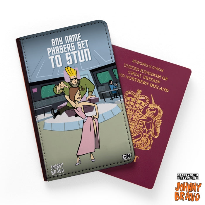 Johnny Bravo Ladies Set To Stun Passport Cover - Image 1