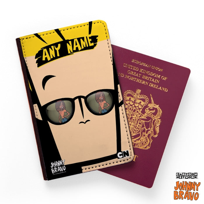 Johnny Bravo Ladies Close Up Passport Cover - Image 1