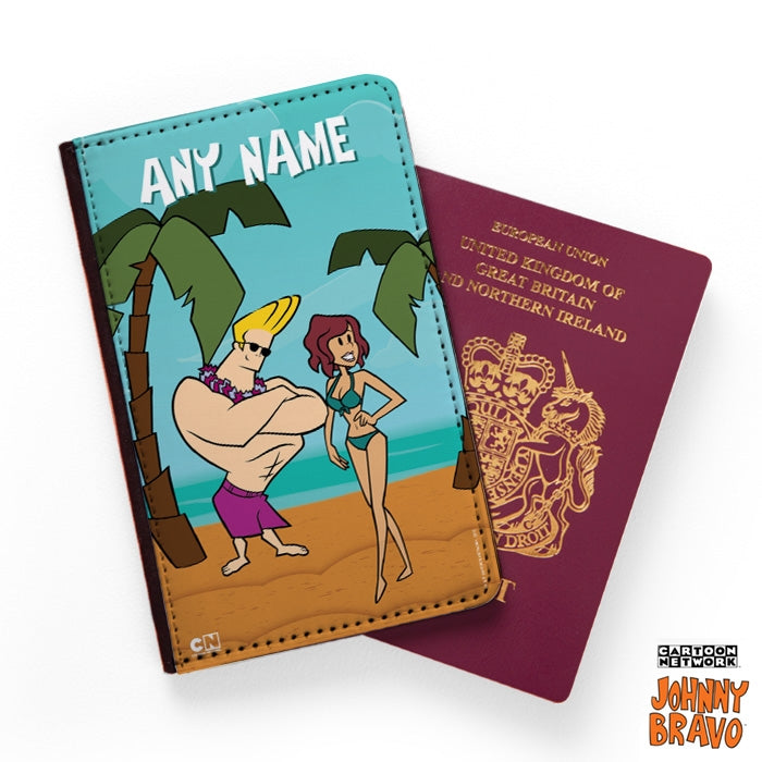 Johnny Bravo Ladies Palm Island Passport Cover - Image 1