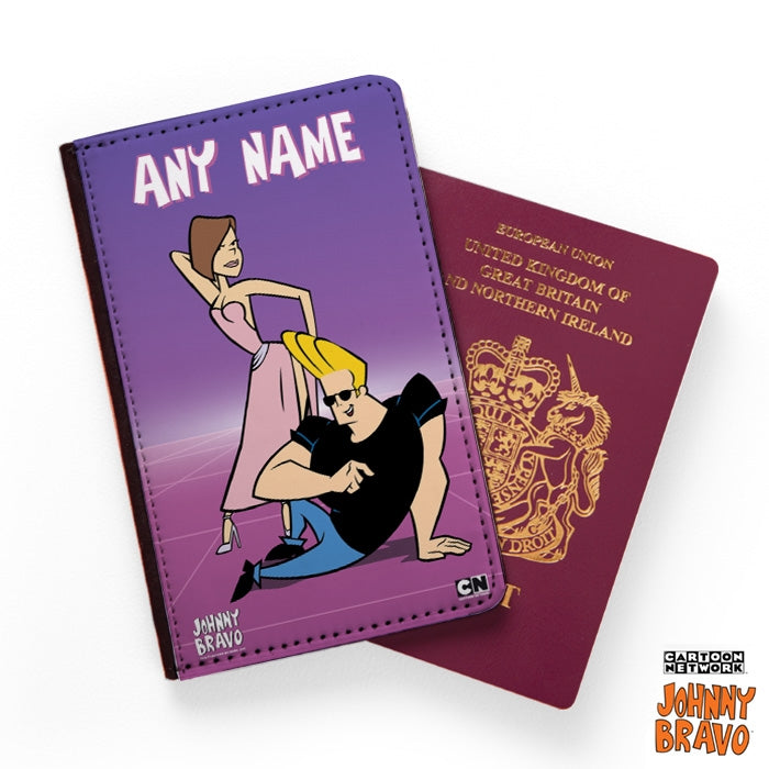 Johnny Bravo Ladies Credits Passport Cover - Image 1