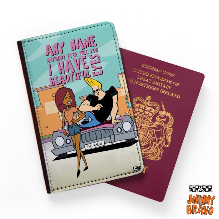 Johnny Bravo Ladies Eyes For You Passport Cover - Image 1