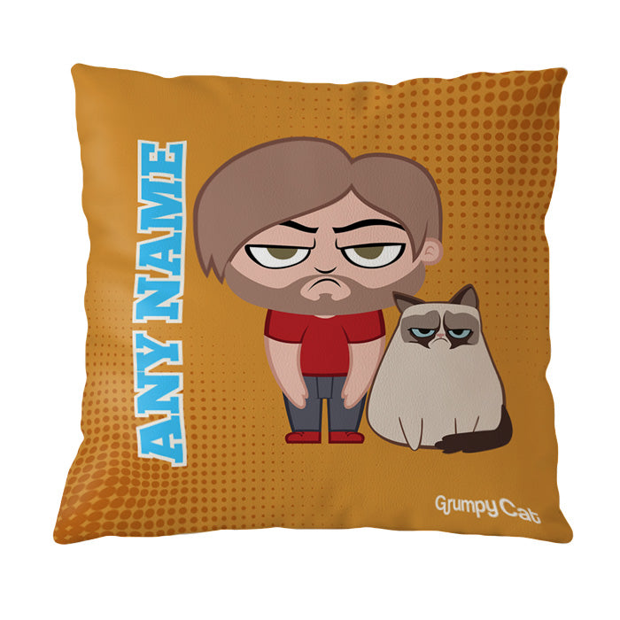 Grumpy Cat Orange Cushion