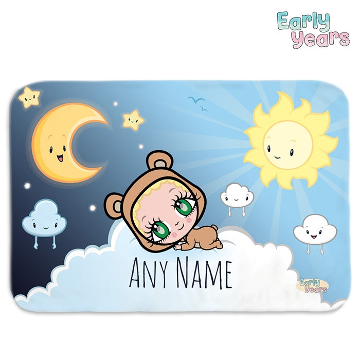 Early Years Sun & Moon Fleece Blanket - Image 1