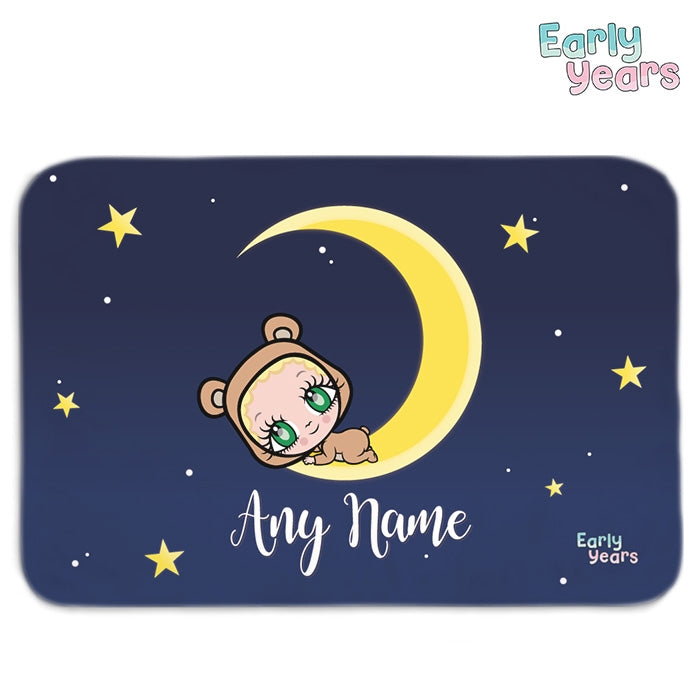 Early Years Moon & Stars Fleece Blanket - Image 1