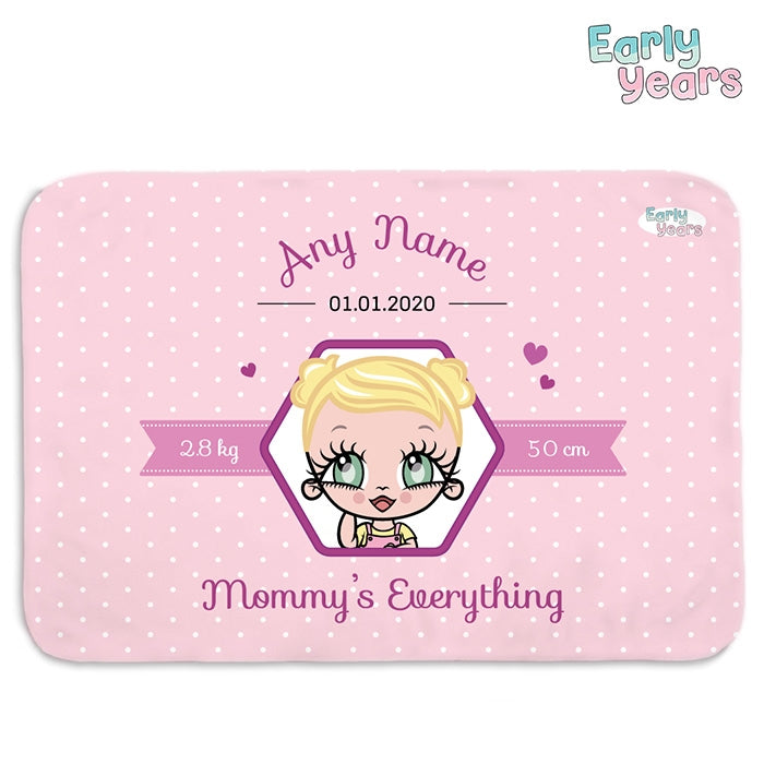 Early Years Pink Mommy's Everything Fleece Blanket - Image 1