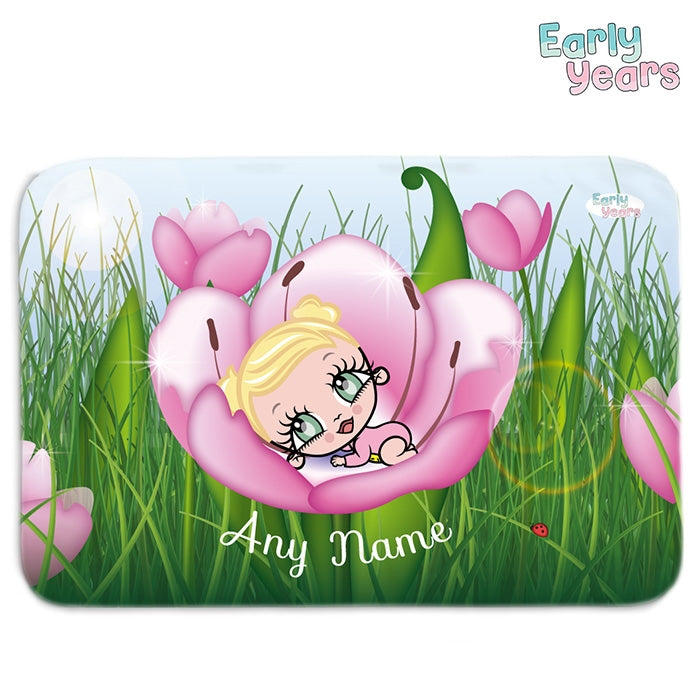 Early Years Floral Fleece Blanket - Image 1