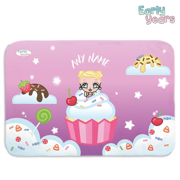 Early Years Cupcake Fun Fleece Blanket - Image 1