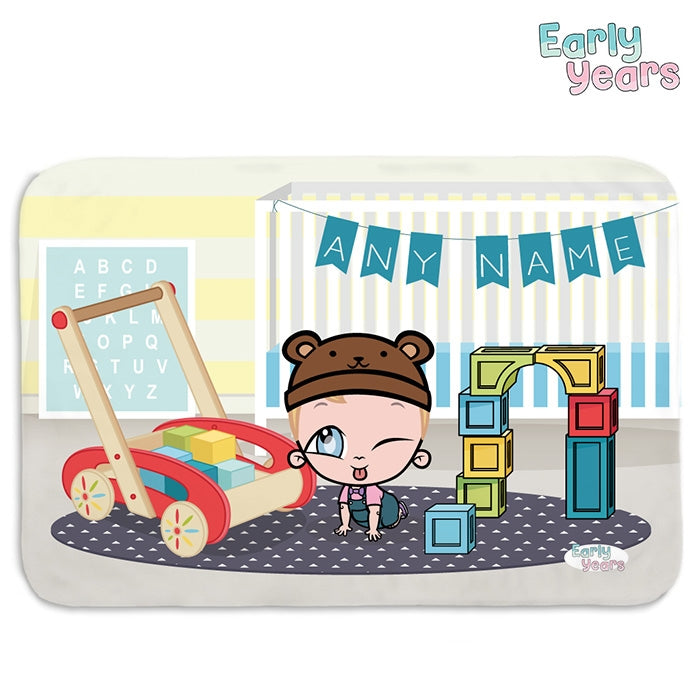 Early Years Nursery Fun Fleece Blanket - Image 1