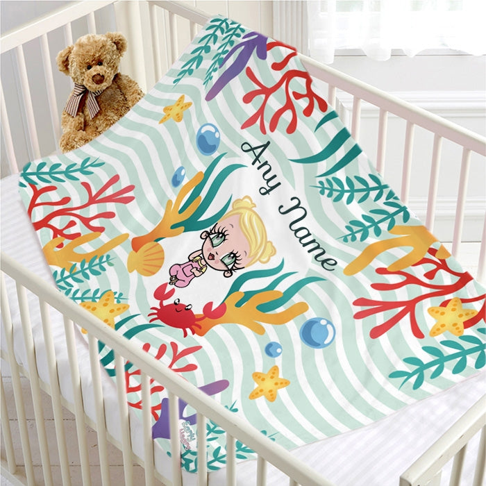 Early Years Nautical Fleece Blanket - Image 1
