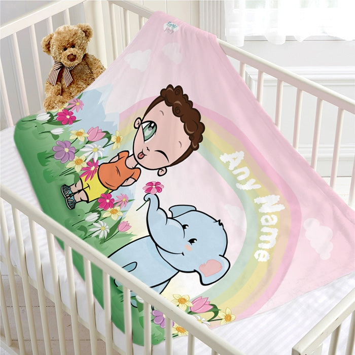 Early Years Rainbow Love Fleece Blanket - Image 2