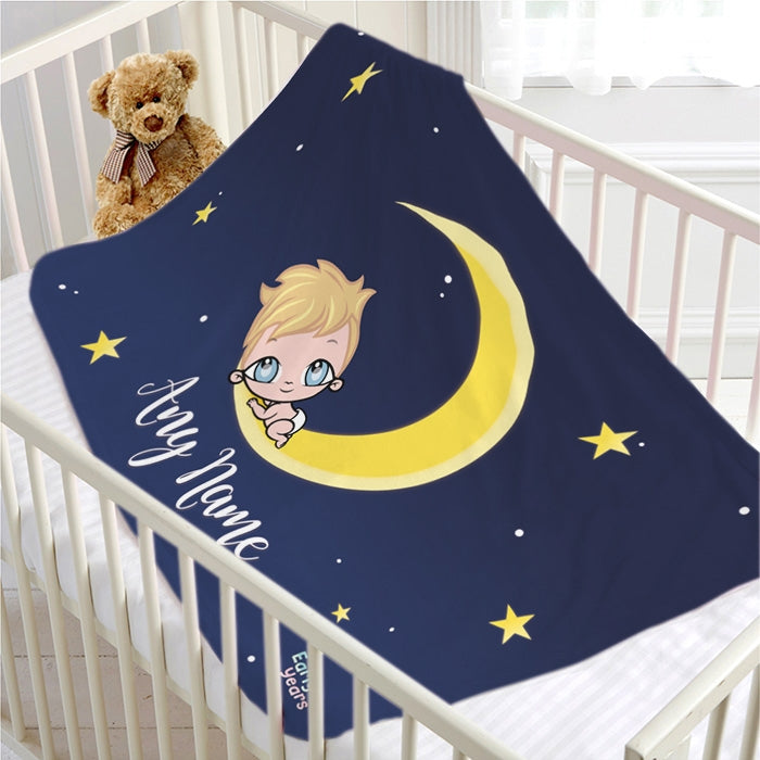 Early Years Moon & Stars Fleece Blanket - Image 2