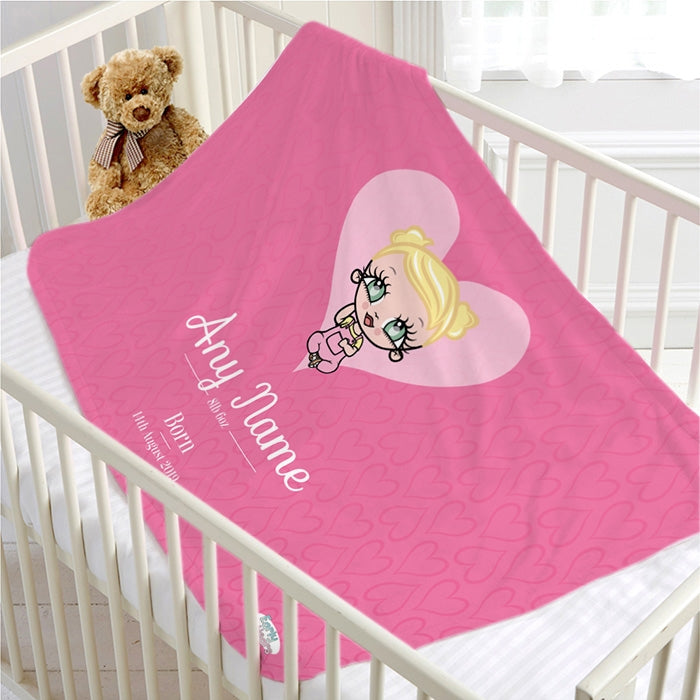 Early Years Baby Pink Fleece Blanket - Image 2