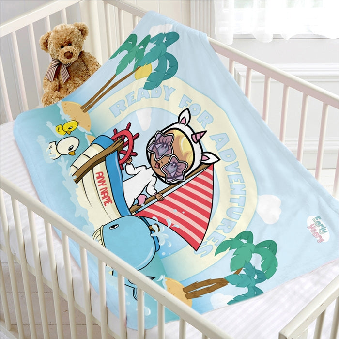Early Years Sailing Adventurer Fleece Blanket - Image 2