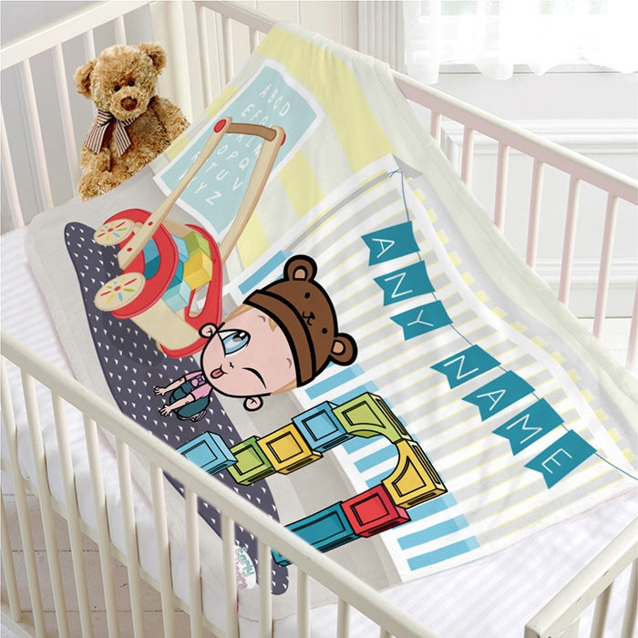 Early Years Nursery Fun Fleece Blanket - Image 4
