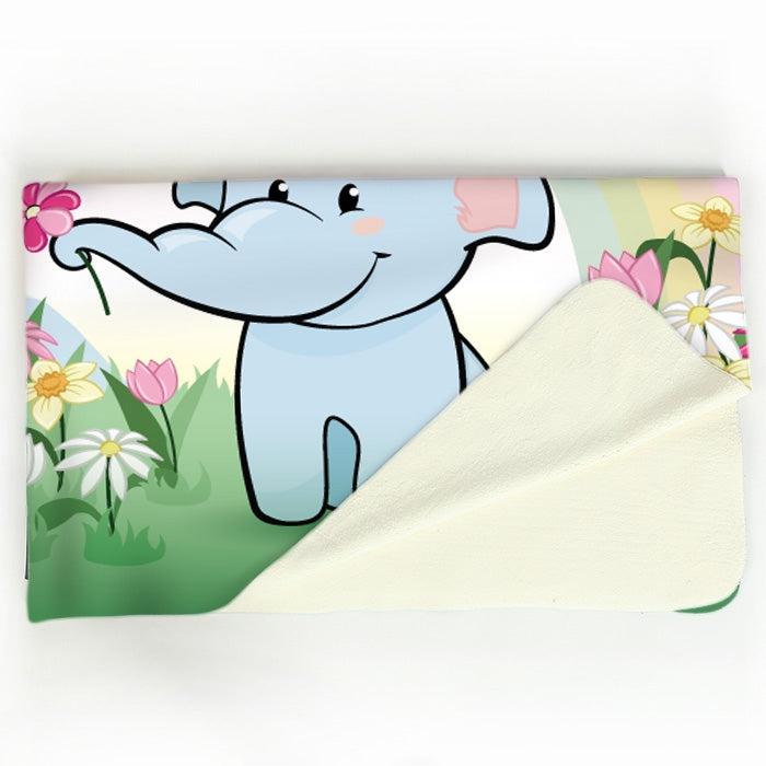 Early Years Rainbow Love Fleece Blanket - Image 4