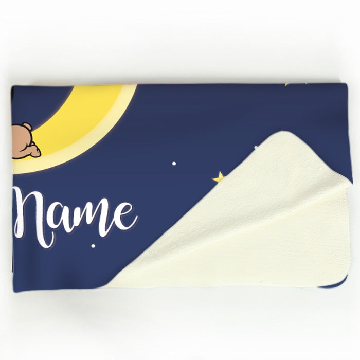 Early Years Moon & Stars Fleece Blanket - Image 3