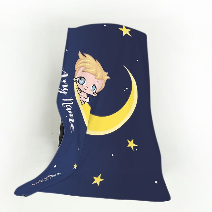 Early Years Moon & Stars Fleece Blanket - Image 4