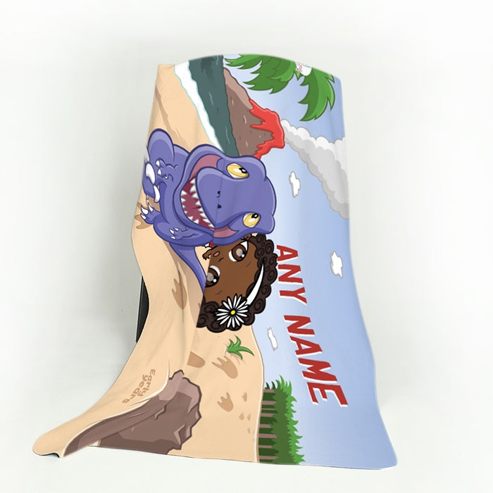 Early Years Dinosaur Fleece Blanket - Image 4