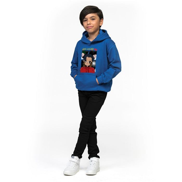 Jnr Boys Alone At Home Hoodie - Image 4
