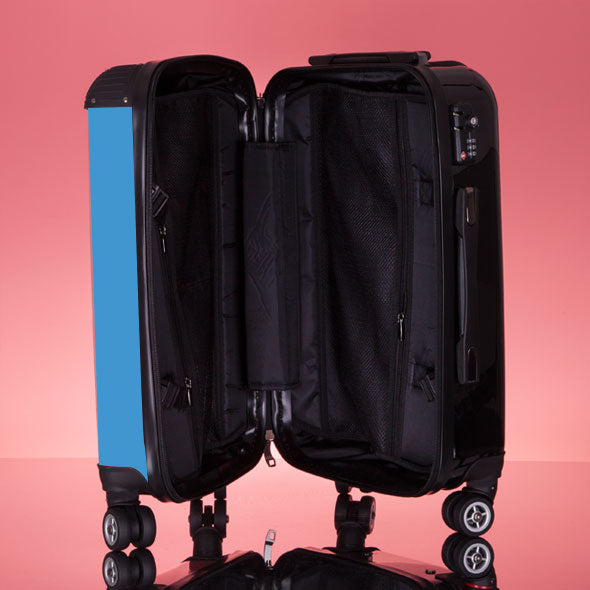 ClaireaBella Turquoise Suitcase - Image 8