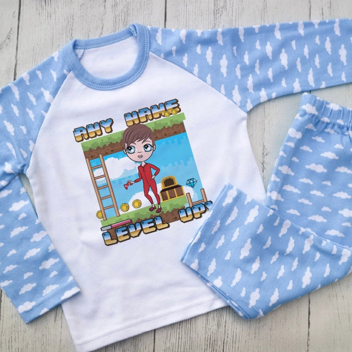 Jnr Boys Gaming Pyjamas - Image 1
